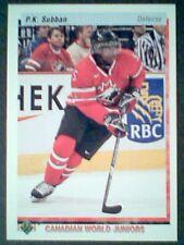 P.K. SUBBAN 10/11 CANADIAN WORLD JUNIORS ROOKIE VARIATION CARD SP