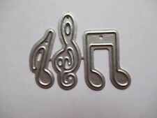 NEW Treble Clef & Musical Notes Metal Craft Die - FREE P&P FROM UK STOCK
