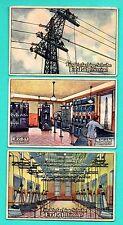 Germany ERDAL KWAK Electricity lot of 6 Vintage cards 214
