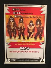 KISS Meets The Phantom Of The Park Columbian Movie Poster Attack Of The Phantoms