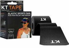 """KT Tape Cotton 10"""" Precut Kinesiology Therapeutic Elastic Sports Roll 20 Strips"""