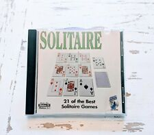 Solitaire by Silver Coyote PC CD-ROM Video Game Windows 95/3.1