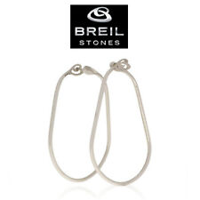 Orecchini Breil Stone 2141010054 in acciaio lucido