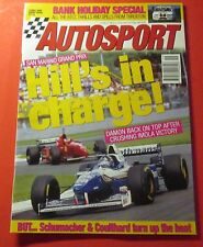 AUTOSPORT MAGAZINE  MAY/1996..BRITISH PUBLISHER...SAN MARINO GRAND PRIX