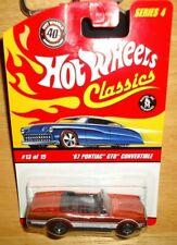 Hot Wheels CLASSICS SERIES 4 '67 PONTIAC GTO CONVERTIBLE Orange  #13/15