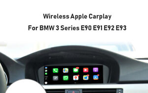 Wireless Apple Carplay Interface Module Android auto For BMW E90 E91 E92 CIC