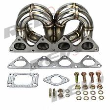 REV9 HONDA CIVIC B16 B18 INTEGRA EQUAL LENGTH TURBO MANIFOLD T3 B SERIES T3T4