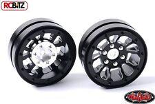 Black 1.9 Universal Beadlock Wheel D2 Z-W0181 RC4WD Moduler BUILD YOUR WAY