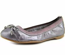 NEW WOMEN'S SPERRY ELISE PEWTER METALLIC BALLET FLATS SIZE 6 M