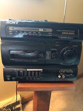 Sony CFS-1055 AM/FM Radio Cassette Corder Boombox 4Band 2way 4Speaker Mega CD TV