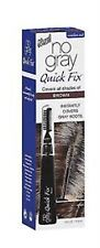 No Gray Quick Fix Instant Touch-Up for Gray Roots, Brown 0.5 oz (Pack of 2)