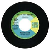 "KENNY WELLS Isn't It Just A Shame   NORTHERN SOUL R&B 45 (OUTTA SIGHT) 7"""