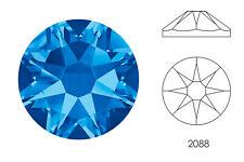 10x Swarovski® Crystals Flatback sapphire 2088 NoHF SS34 7mm Xirius Strass-Stein