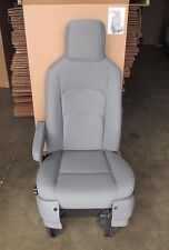12 13 14 15 16 17 18 19 FORD ECONOLINE VAN POWER DRIVER BUCKET SEAT GRAY CLOTH
