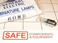 GE 60MB Miniature Lamp #12076 T2.5 Bulb BA9s Base Mini Bayonet 2V .06A QTY-1 F22