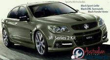 Commodore VF S2 Sports kit inc Black Grille, DRL, Fender surrounds  Holden Genui