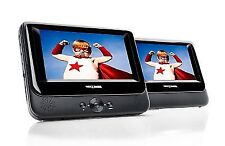 NEXTBASE NB48AM / Sdv48am Twin Screen 7-inch Portable DVD Player With Car Kit