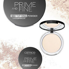 Catrice - Prime And Fine - Mattifying Powder Waterproof - #10 Translucent