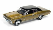 1968 Chevy Impala in gold, Johnny Lightning Holiday Classic, 1/64