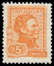 "URUGUAY 837 (Mi1262) - General Jose Artigas ""1974 Yellow"" (pf1732)"
