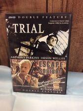 DVD Double Feature The Trial.  Escape From Sobibor