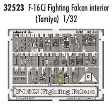 Eduard 1/32 F-16CJ interior para Tamiya Kit # 32523