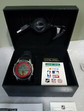 """Chicago Blackhawks """"Game Time"""" NHL Sports Schedule Wrist Watch W USB Connector"""