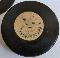 Vintage PHOENIX ROADRUNNERS WHL Converse Official HOCKEY PUCK Art Ross USA CCM