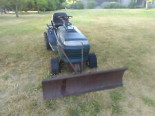 Snow Plow Craftsman Riding Lawn Mower. 42"