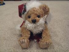 First & Main, Inc. Stuffed Plush Chuckles Santa / Christmas Bear - Item XS 1127