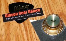 Gibson Les Paul Knob Single Gold T Top Hat Guitar Parts R9 SG Custom ES R8 R7 Lg