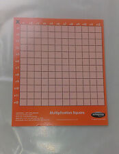 Multiplication Square (New Card approx 16.5cm x 14cm) with dry-wipe surface