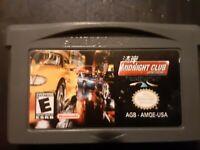 Midnight Club: Street Racing (Nintendo Game Boy Advance, 2001) no box just game