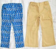 *Lot of 2* Girls Size 3T - DKNY Legging Jeans - Ralph Lauren Khaki Pants