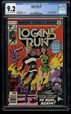 Logan's Run #6 CGC NM- 9.2 Off White to White 1st Solo Thanos!