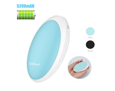Rechargeable Hand Warmers Hothands, 5200mAh Electric Portable Pocket Hand Warmer