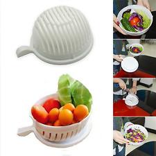 Creative 1 Minute Salad Maker Fast Cutter Kitchen Fruit Vegetables Cutter Bowl
