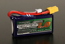 New Turnigy nano-tech 1000mAh 3S 25C-50C Battery Lipo GAUI EP255 XT60 XT-60