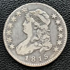 1815 Capped Bust Quarter Dollar 25c RARE Better Grade VF  #7693