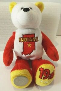 """Limited Treasures 2002 Indiana 9"""" Plush 19 State With Quarter Dec 11, 1816"""