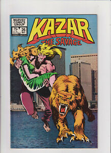 Kazar The Savage #26 VF 8.0 Marvel Comics 1983