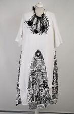 FAB SARAH SANTOS  100% LINEN WHITE  parachute dress size M/L