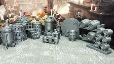 15 Piece Dwarven Ale Works 28mm Scale Model Dungeons & Dragons Scatter Terrain