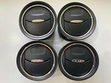 FORD MONDEO MK4 S-MAX GALAXY DASH AIR VENTS X4 WITH CHROME TRIM 6M21-U018B09-AD