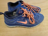 Nike Free 5.0 TR Fit 4 Running Shoes Hyper Cobalt Blue 629496-401 Size 6.5 M