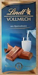 + Lindt Vollmilch 100g, Alpenvollmilch