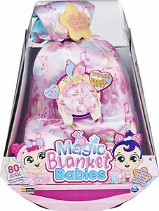 Magic Blanket Babies Ballerina , Surprise Plush Baby Doll with Over 80 Sounds