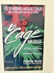 La Cage aux Folles- Theatre Poster