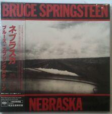 Bruce Springsteen Nebraska CD Japon edicion vinyl replica