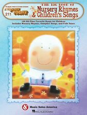 The Big Book of Nursery Rhymes & Children's Songs Sheet Music E-Z 014041777